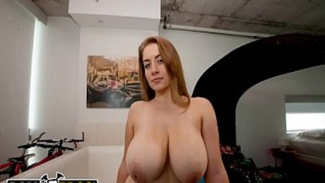 BANGBROS - PAWG Kali West Shows Off Her Wonderful Ass And Big Tits!